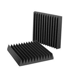 """Venta al por mayor de 48 PCS Paneles acústicos Estudio Insonorización de la espuma de espuma 1 """"x 12"""" x 12 """"fzflr 1333 v2"""