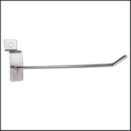 Bath Home & Garden Robe Hooks Bathroom Hardware 25 X Slatwall Single Hook Pin Shop Display Fitting Prong Hanger 150Mm1 Drop Delivery 2021 Ej on Sale