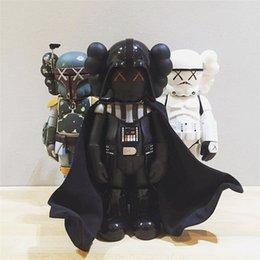 Großhandel Hot Black Knight 26 cm 0.8kg Originalfake K A W S Companion Der berühmte Stil für Original Box Action Figure Modell Dekorationen Spielzeug Geschenk