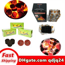 Wholesale Wholesale hookah Coconut shell carbon and retail of high end Arabian water pipe bong quality fuel 112547