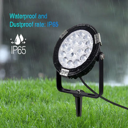 milight remote Canada - MiLight DC24V IP65 Waterproof LED Garden Light SYS-RC1 SYS-RC2 9W 15W RGB+CCT Subordinate Lamp SYS-T1 Remote Host Controller Lawn Lamps