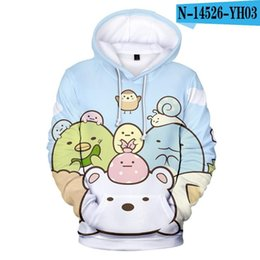 boy s hoodies sweatshirts UK - Classic Cool Anime Sumikkogurashi 3D Print Hoodies Sweatshirts Boys girls Long Sleeve Hoodie Sumikko Gurashi Cosplay Pullovers Men's &