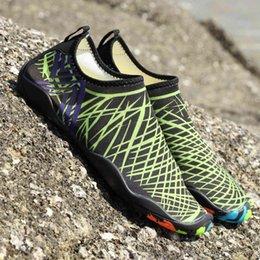 Großhandel (der Link für Mischungsauftrag) Frauen Sneakers Aqua-Shoes River-Sea Beach-Mesh Schwimmen Sommer NICHT Rutschend Atmungsaktive Schnelltrockner