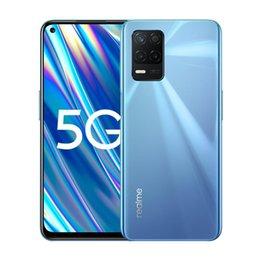 Originele Realme Q3i 5G Mobiele Telefoon 4 GB RAM 128 GB ROM MTK Dimensity 700 Octa Core Android 6.5 inch Volledig scherm 48.0mp 5000mAh Vingerafdruk ID Face ID Smart Mobiele Telefoon