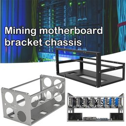 Minings de la plataforma de la plataforma de minería abierta apilable ETH / etc / ZEC Ether Accessories Herramientas para 6/8/12 GPU Crypto Coin Bitcoin Rack en venta