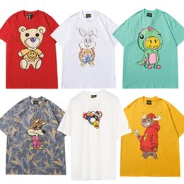 Wholesale justin bieber for sale - Group buy Justin Bieber DREW House T shirt Smile Hip Hop Tee Fashion Mens Tshirt Short Sleeve O Neck Cotton