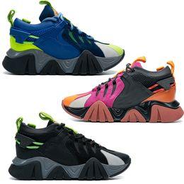 Ingrosso Top di alta qualità originali scarpe casual scarpe casual catena di scarpe da ginnastica tutti colori pelle nera sneaker di lusso designer di lusso donne amanti 2021 moda unisex