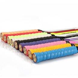 Wholesale Anti-slip Breathable Sport Over Grip Sweatband Tennis Overgrips Tape Badminton Racket Grips Sweatband 533 Z2