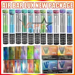 Air Bar Lux Descartável Vape Pen E Cigarro Dispositivo com 500mAh Bateria 2.7ml Pods 1000 Puffs Airbar Kit vs Puff XXL em Promoção