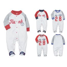Newborn Baby One Pieces Jumpsuit Infant Boy Girl Warm Romper Kids Footed Pajamas Baby Clothing Cartoon Roupa Cotton Costume 756 X2 on Sale
