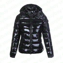 Mode kvinna parka glänsande dunjacka brittisk stil svart glänsande kvinnor rockar doudoune femme svart matt vinter coat parkas