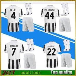 2021 2022 futbol giyim erkekler ve çocuklar futbol formaları set 21/22 gömlek kitleri + çorap üniforma satışları