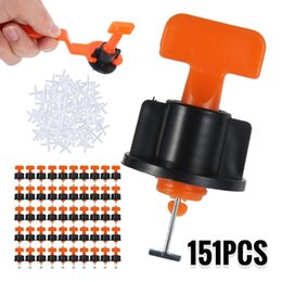 Wholesale Professional Hand Tool Sets 151Pcs Tile Spacer Leveling System For Flooring Wall Carrelage Leveler Locator Spacers Plier