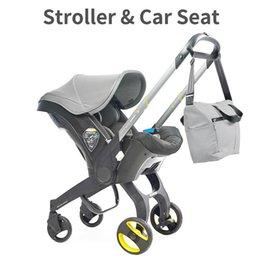 Großhandel Kinderwagen 4 in1 Autositz 0-2 Jahre alt geborener Wagen tragbarer Kinderwagenwagen-Kinderwagen #