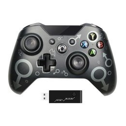Wireless Controller For Xbox One S One X PS3  One Elite Windows 7 8 10 Usergaing PC Gamepad With 2.4G Game Controllers & Joysticks on Sale
