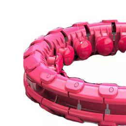 Hula hoop Perte de poids paresseux artefact sans gouttes de contraction abdominale peut être utilisé par des personnes de plus de 3 ans en Solde