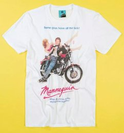 Wholesale mannequin movie resale online - Mannequin Movie Poster White T Shirt