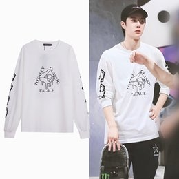 palace skateboards 2021 - Wang Yibo's same style palace clothes for men women, spring and summer fashion skateboard jacket, piano printed sweater