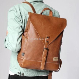 Discount Large Brown Leather Backpack | 2018 Large Brown Leather ...