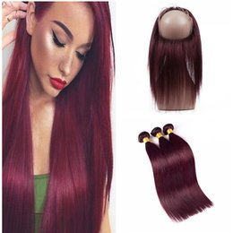 34 inch red hair extensions online 34 inch red hair extensions burgundy 99j silk straight lace frontal with bundles wine red color straight 360 lace band frontal with hair extension 99j 360 lace frontal pmusecretfo Choice Image