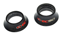 Bicycle fork washer online shopping - EC90 carbon fiber bicycle parts headset spacer mtb bike washer top cap road cycling fork cover mm