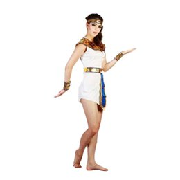 Red Indian Costumes Australia - Girls Halloween Costume Egypt Princess Cosplay Uniforms Party Sexy New