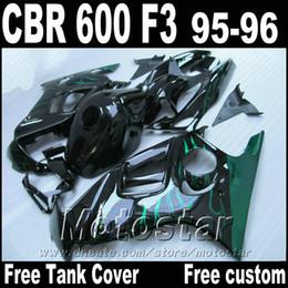 $enCountryForm.capitalKeyWord NZ - Free Tank motorcycle parts for HONDA fairings CBR600 F3 1995 1996 green flames in black CBR 600 f3 95 96 fairing kit