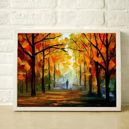 $enCountryForm.capitalKeyWord Canada - 100% Pure hand painted oil painting high quality color thick oil modern simple decorative style autumn canvas painting JL109