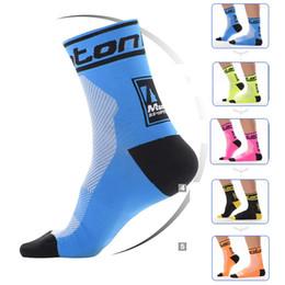 $enCountryForm.capitalKeyWord Canada - New Monton Men Cycling Socks High Elasticity Outdoor Sports Wearproof Bike Footwear For Road Bike socks calcetines ciclismo