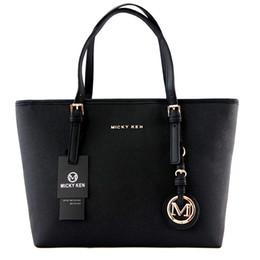 Light pink purses online shopping - High quality women bags MICHAEL KEN lady PU leather handbags famous Designer brand bags purse shoulder tote Bag female