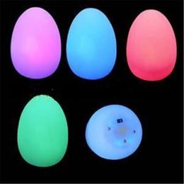 Discount mood lighting - Easter Mood Light Egg Lamp,magic Easter egg light Party Holiday gift Mood Depress Egg 7 Multi-Color LED Changing decor N