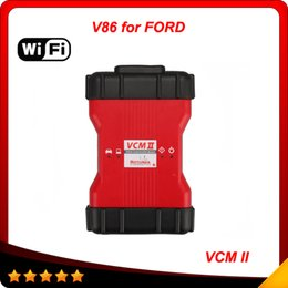 Best Quality Ford VCM II wifi IDS V86 OEM Level Diagnostic Tool 2016 for ford vehicles VCM 2 wifi OBD2 Scanner FD IDS VCM2 from vcm tools suppliers