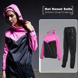 woman white yoga pants 2019 - Wholesale- Vansydical Sports Suits Women's Fitness Sportswear Hooded Running Jacket Pants Set GYM Yoga Training Jog