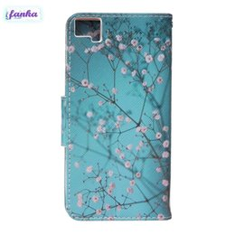$enCountryForm.capitalKeyWord Canada - Hot Sale Wallet Case Leather +Soft TPU Plum Blossom Painting Case Holder Cover Protection Skin For BQ M5 Samsung galaxy s7 iphone 7