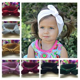 BaBy jersey knit online shopping - SALE Glitter Messy Bows Baby Knot Head wraps Jersey Knit Headwraps Hair Accessory Children Knott Headband color