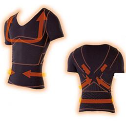 $enCountryForm.capitalKeyWord Australia - compression shirt men quick dry bodyshaper breathable abdomen slimming body shaper male fitness shapers nylon spandex black shapewear