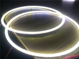 2X 160mm Branco LEVOU Olho do Carro Olho COB Luz À Prova D 'Água 12 V Anel Círculo de Halo Cabeça luz Da Lâmpada para o Carro Motocicleta venda por atacado