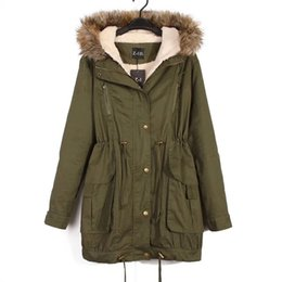 Discount Girls Winter Army Coat | 2017 Girls Army Green Winter ...