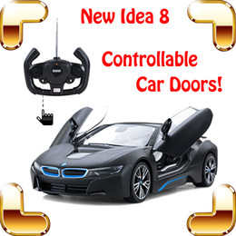 drift car racing NZ - New Year Gift I8 Limited Edition 1 14 2.4G RC Remote Racing Car Controllable Car Door Model Vehicle Drift Auto Toy