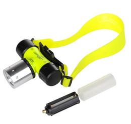 Портативный 10 Вт водонепроницаемый головной свет 1800Lm CREE T6 LED AAA / 18650 дайвинг плавание светодиодные фары рыба кемпинг лампы открытый светодиодное освещение
