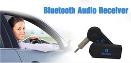 Chinese  New arrival hands free Wireless Audio Car Bluetooth EDUP V 3.0 Transmitter Stereo Music Receiver Black with retail box 30pcs up manufacturers