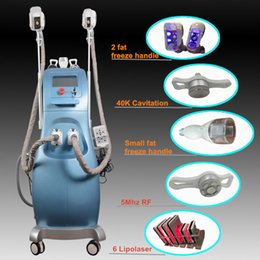 Working laser online shopping - fat freezing machine ultrasonic cavitation rf slimming velashape machine lipo laser fat freezing handles can work together