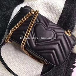 venda por atacado Couro legítimo ! Número de série Mulheres Bag grife marmont moda de luxo de alta qualidade bolsa da mulher venda promocional