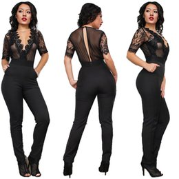 Discount Bodycon Jumpsuits For Plus Size Women | 2017 Bodycon ...