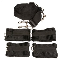 Adult Games Restraint Australia - Adult Games Under Bed Restraint System Sex Products Tools Erotic BDSM Bondage Handcuffs & Ankle Cuffs Sex Toys For Couples PY330 q171124
