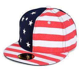 63470f7c7b9 2015 New Unisex Fashion Hip Hop Star American Flag Cap USA Baseball Cap  Snapback Hats For Men And Women Striped Hat Men HT042