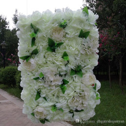 Stage decoration designs nz buy new stage decoration designs european design wedding decoration flower wall party stage backdrop decorative peony and hydrangea flower row multi colors junglespirit Image collections