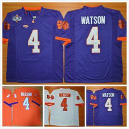 5532cb973 Clemson Tigers DeShaun Watson Men Jersey 4 Diamond Quest College Mens Football  Jerseys .
