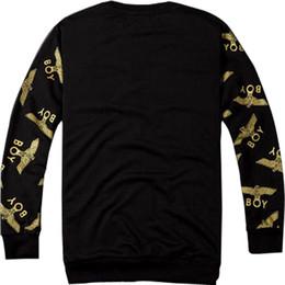 $enCountryForm.capitalKeyWord Canada - Wholesale-Cotton Boy London Mens Hoodies And Sweatshirts Brand Long Sleeve Sportwear Clothes Autumn Thin Coat Fashion Black Sweatshirt Men