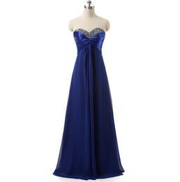$enCountryForm.capitalKeyWord UK - Top Rated Bridesmaid Dresses Long Floor Sequin Beaded Draped Chiffon Royal Blue   Purple In Stock Cheap Bridesmaids Dress For Women Wedding